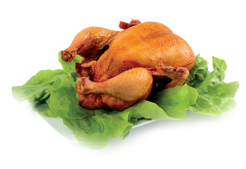 Smoked chicken - whole