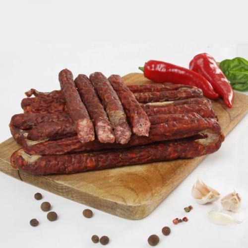 Lamb kabanos sausage